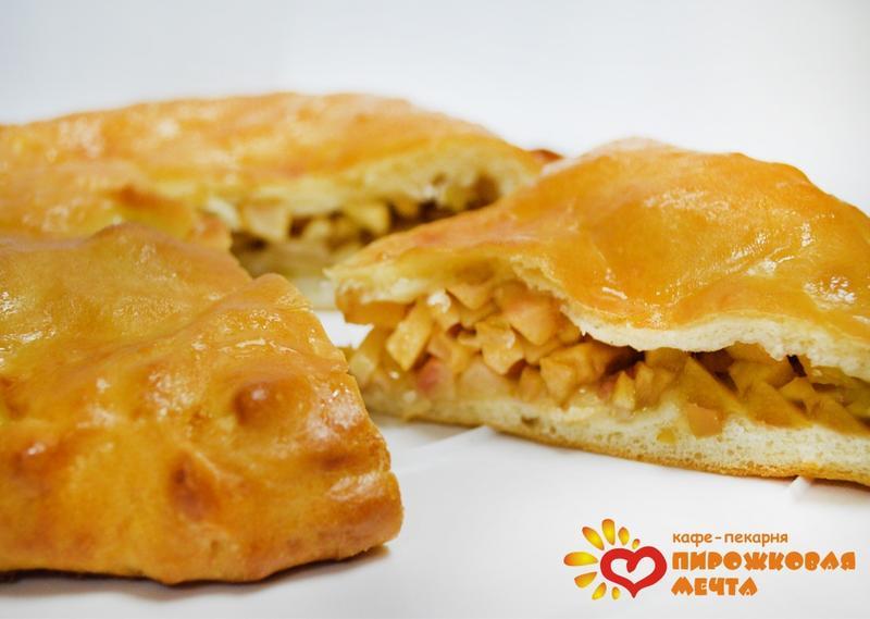 Пирог с яблоками с дрожжевого теста рецепт