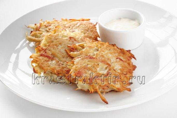 Как сделать белорусские драники из картофеля рецепт с фото