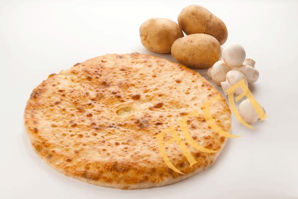 Пироги с картошкой и грибами постные