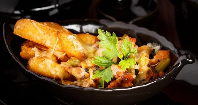 Горячая сковородка со свининой рецепт с фото