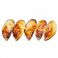 Мидии в сырном соусе Фото