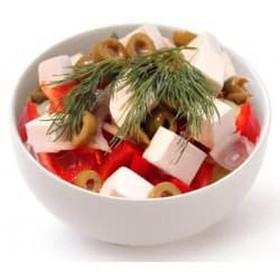 Греческий салат - Фото