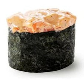 Острые суши с лососем - Фото