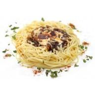 Обед лесника спагетти Фото