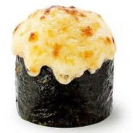 Запеченные суши с креветкой Фото