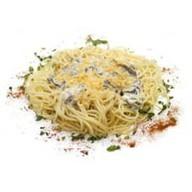 Сытно-сырные спагетти Фото