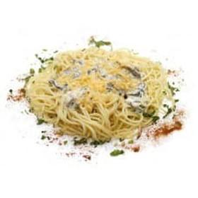 Сытно-сырные спагетти - Фото