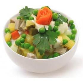 Мясной салат - Фото