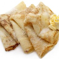 Блинчики с маслом и сахаром Фото