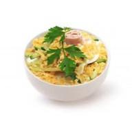 Ветчинный салат Фото