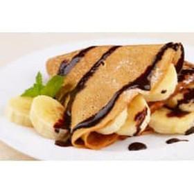 Блинчики с бананом и шоколадом - Фото