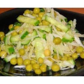 Зелёный салат - Фото