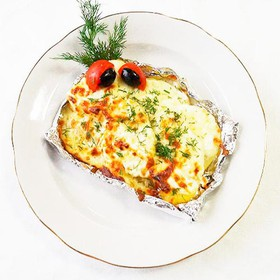 Ароматная картошка чесночная - Фото
