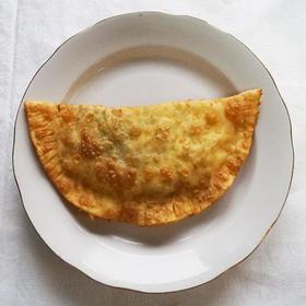 Чебуреки крымские с мясом - Фото