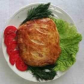 Филе куриное в слоеном тесте - Фото