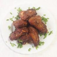 Крылья куриные в соевом соусе Фото