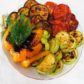 Овощи в соевом соусе - Фото