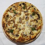 Бефстроганов пицца Фото
