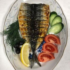 Скумбрия филе маринованное с овощами - Фото