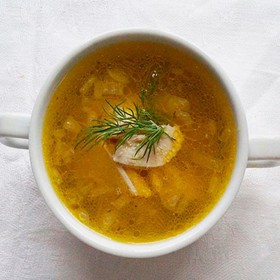 Суп-лапша домашняя - Фото