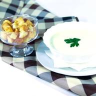 Суп-пюре сырный Фото
