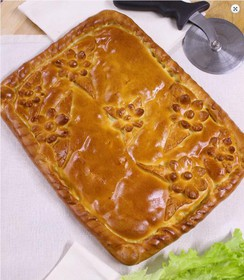 2 пирога по 2 кг с курицей и картофелем - Фото