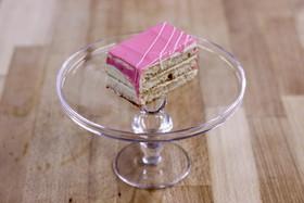 Бисквитно-сливочное пирожное - Фото