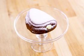 Пончик Панцеротти с кремом - Фото
