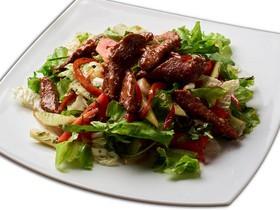 Теплый салат с языком - Фото