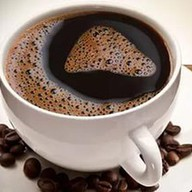 Растворимый черный кофе Фото