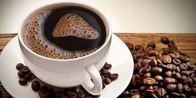 Растворимый черный кофе - Фото