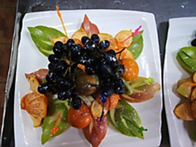 Фруктовая тарелка - Фото