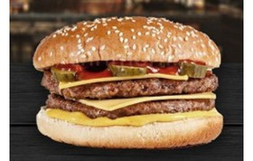Двойной чизбургер - Фото