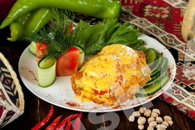 Фирменное блюдо Муш с гарниром - Фото