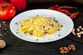 Запеченный картофель с сыром - Фото
