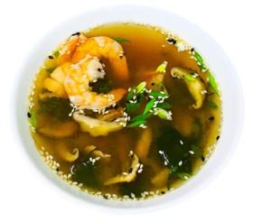 Мисо суп с креветкой - Фото
