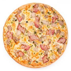 Чизбургер пицца - Фото
