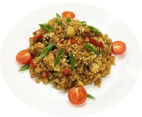 Рис с креветкой - Фото
