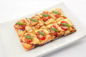 Суши-пицца с крабом - Фото