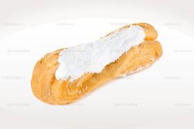 Эклер с белковым кремом - Фото