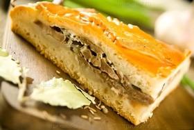 Пирог с картофелем и фаршем - Фото