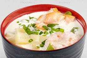 Сливочный суп с пастой том ям - Фото