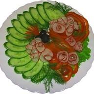 Нарезка овощная Фото