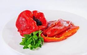 Перец болгарский на мангале - Фото