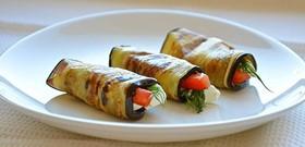 Баклажаны с сыром и чесноком - Фото