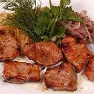 Шашлык из свиной мякоти Фото