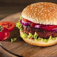Бургер из говядины Фото