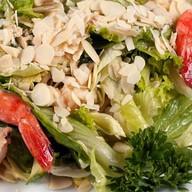 Салат из тигровых креветок с авокадо Фото