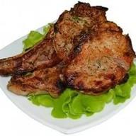 Антрекот (свинина на кости) Фото