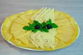 Сырная нарезка - Фото